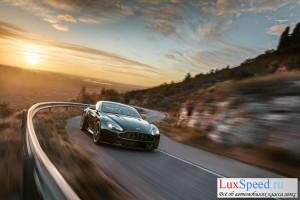 Aston Martin Vantage N430 на трассе