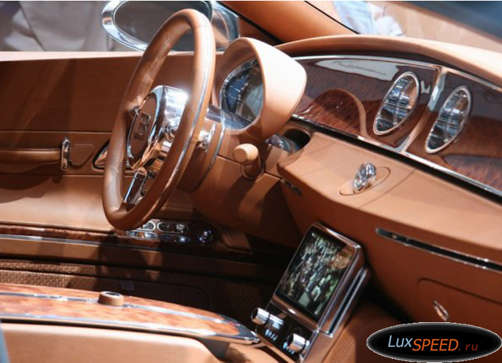 Салон Бугатти Галибиер - самого дорогого автомобиля