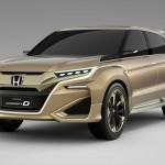 Honda тестирует «китайский» купе-кроссовер