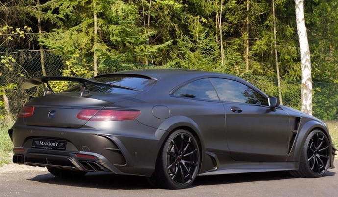Mansory представил Mercedes-AMG S63 Coupe Black Edition