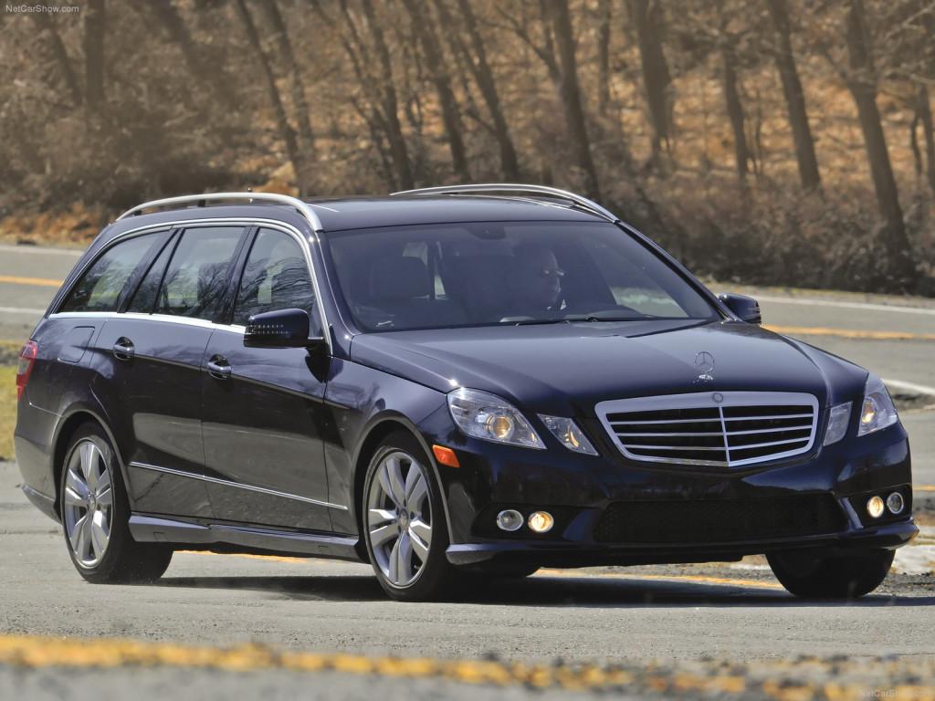 На тестах был замечен Mercedes Benz E-Class Estate