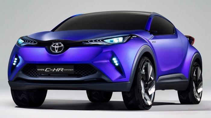 Компанией Toyota был представлен конкурент Nissan Juke