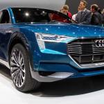 Электрический кроссовер Audi E-tron Quattro Concept публично дебютировал воФранкфурте