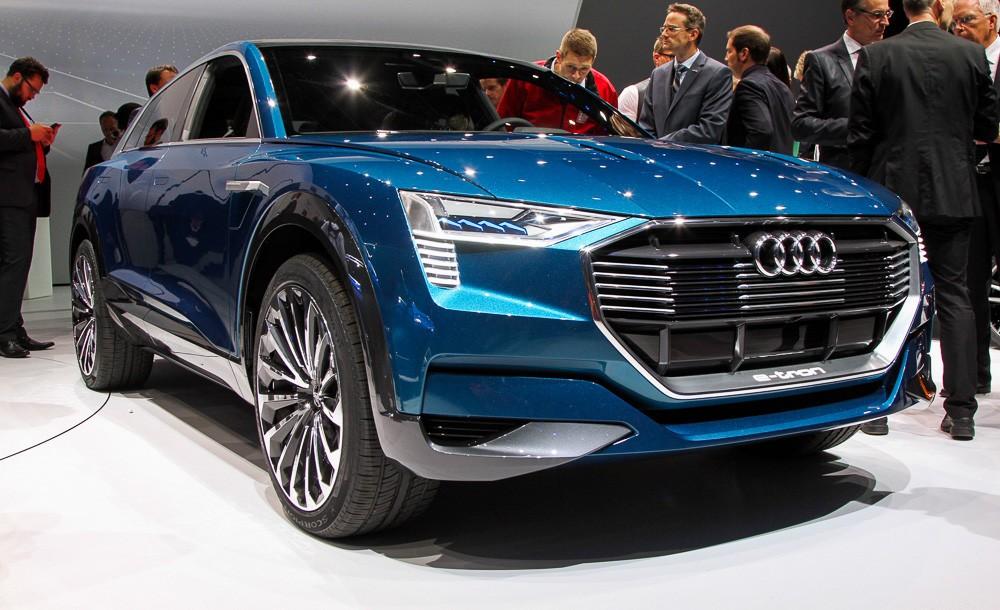 Audi привезла во Франкфурт концепт e-tron quattro