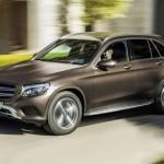 В Российской Федерации новый кроссовер Mercedes Benz GLC доступен для покупки