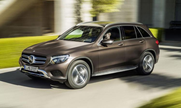 Новый кроссовер Mercedes Benz GLC вышел на российский рынок