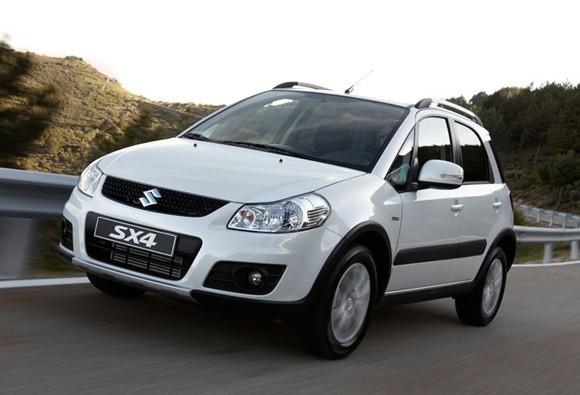 Кроссовер Suzuki SX4 обзаведется турбированным двигателем