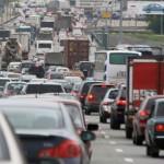 Самый напряженный «час пик» отмечен утром вДень без автомобиля