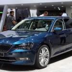В  России 30сентября стартуют продажи флагманского седана  Skoda Superb