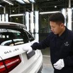 ВКитайской народной республике приступили кпроизводству кроссовера Мерседес-Бенс GLC
