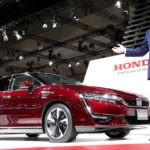 Хонда CLARITY вскоре впродаже