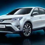 Названа официальная цена 2016 Тойота RAV4 Hybrid