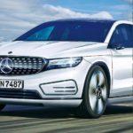 Mercedes готовит новый хит— «Недорогие» электрокроссоверы