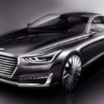 Компания Хёндай показала новый флагманский седан Genesis G90