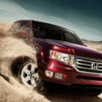 Компания Хонда показала заднюю часть пикапа Ridgeline свежей генерации
