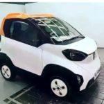 Вweb-сети интернет появились «живые» фотографии электромобиля Baojun E100