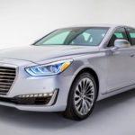 Премиальный седан 2017 Genesis G90 привезли вДетройт