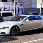 Встолице франции замечен эксклюзивный седан Астон Мартин Lagonda за1млневро