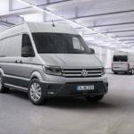 VW презентовал очередные изображения коммерческого фургона Crafter