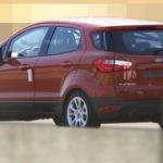 Размещены фотографии улучшенного кроссовера Форд EcoSport