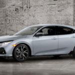 Хонда рассекретила внешность хэтчбека Civic обновленного поколения