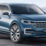 Дата дебюта ипервые детали — Новый VW Touareg