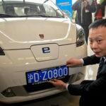 Встолице Китая число желающих купить электрокары превысило 60 тыс. человек