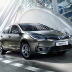 Тоёта начала продажи в Российской Федерации новой модели Corolla