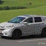 Винтернете появилась фотография нового кроссовера Хонда CR-V