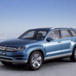 Новая модель кроссовера от VW была показана навидео