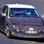 Genesis G70 от Хёндай проходит дорожное тестирование вНюрбургринге