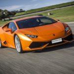Вцентре столицы Lamborghini врезался вдорожный отбойник— свидетели