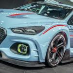 Компания Хюндай представила концептуальный автомобиль RN30
