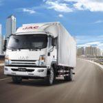 JAC N120— новый китайский грузовой автомобиль в РФ