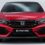 Рассекречен европейский вариант Хонда Civic хэтчбек 2017