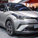 Тойота поведала оспецификациях C-HR для домашнего авторынка