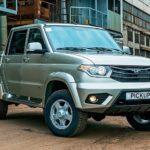 УАЗ Pickup стал лидером русского рынка пикапов вначале осени 2016г.
