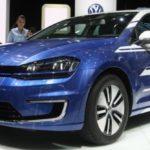 Улучшенный концептуальный VW e-Golf Touch представлен встолице франции