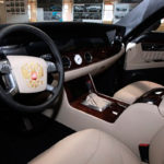 Впрезидентском «Кортеже» установлен руль от Форд Mondeo
