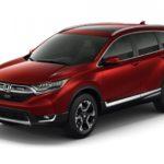 Хонда представила обновленный тип кроссовера CR-V