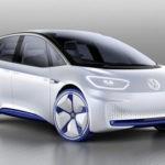Компания Фольксваген показала концептуальный автомобиль хэтчбека сэлектродвигателем