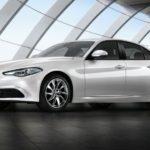 Новый седан Альфа Ромео Giulia стартует на рынке Великобритании