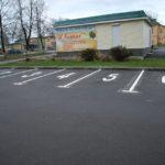 Разметка парковок как главный атрибут