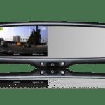 Удобство парковки со встроенным монитором в зеркало заднего вида