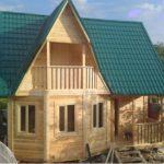 Основные плюсы профилированного бруса для строительства дома